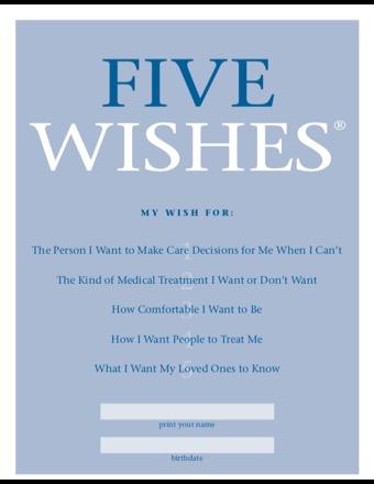 5 wishes pdf PDF