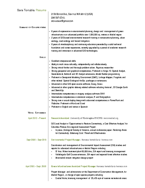 Assistant Project Manager Resume Pdf Free Download