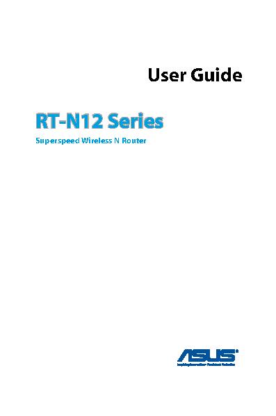 Asus Owners Manual Sample