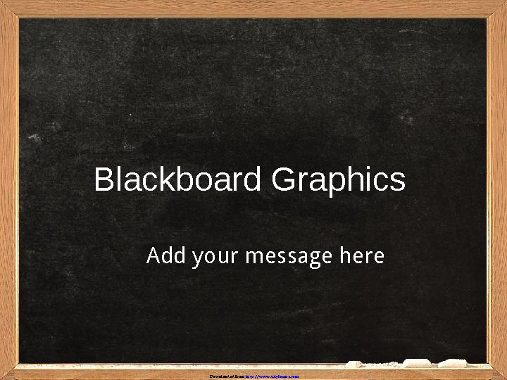 Blackboard Graphics Template