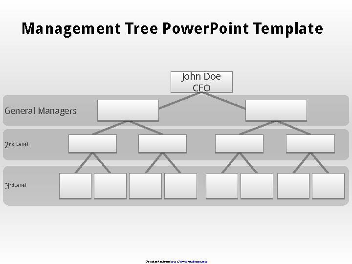Blank Organizational Chart 3
