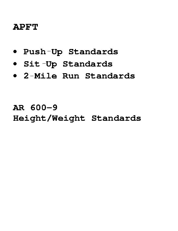 Body Fat Measurement Chart Standards