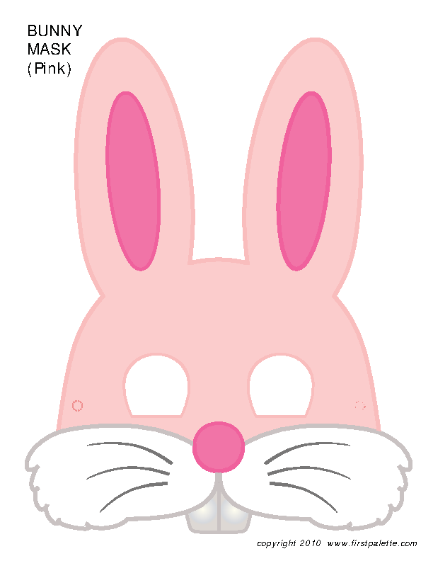 Bunny Face Template 1