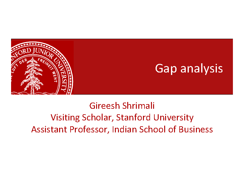 Business Case Gap Analysis