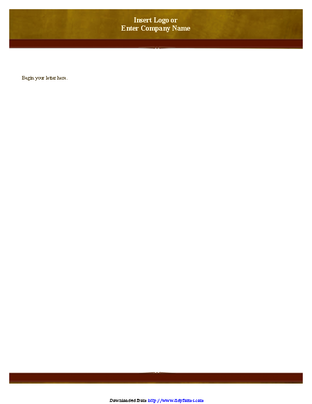 Business Letterhead Template 1