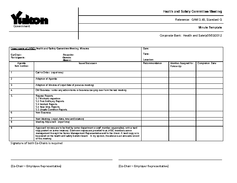 Business Minutes Form2