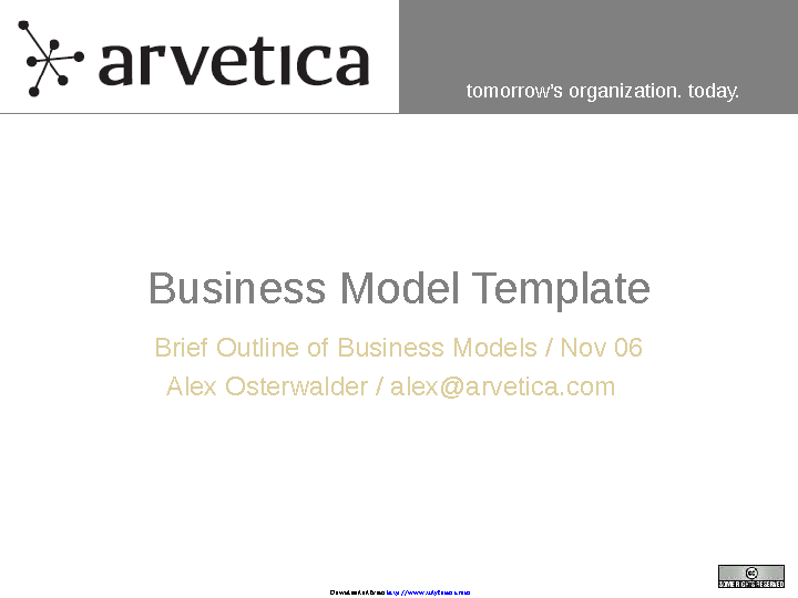 Business Model Template 1