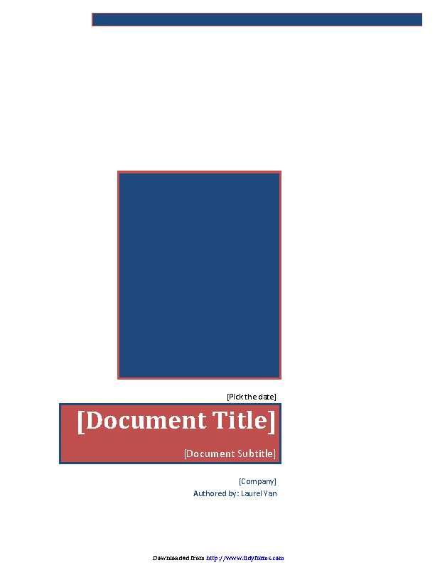 Business Report Template 4