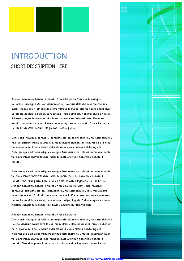 Business Report Template 5