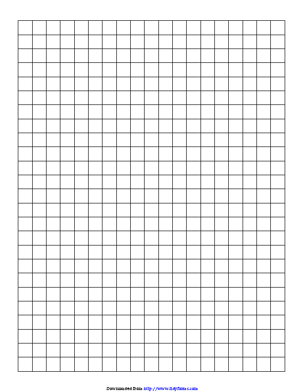 Centimeter Graph Paper 1