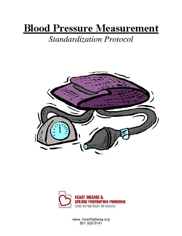 Child Blood Pressure Chart Template