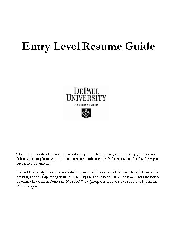 Chronological Entry Level Administrative Assistant Resume Sample