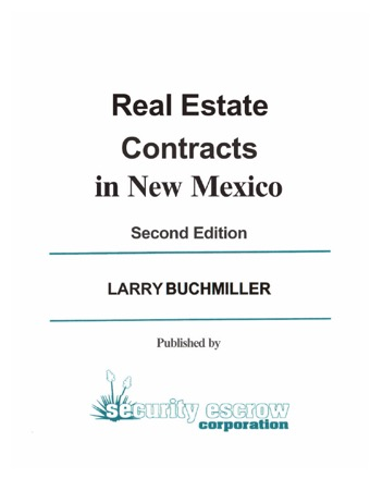 Commercial Real Estate Contract PDF