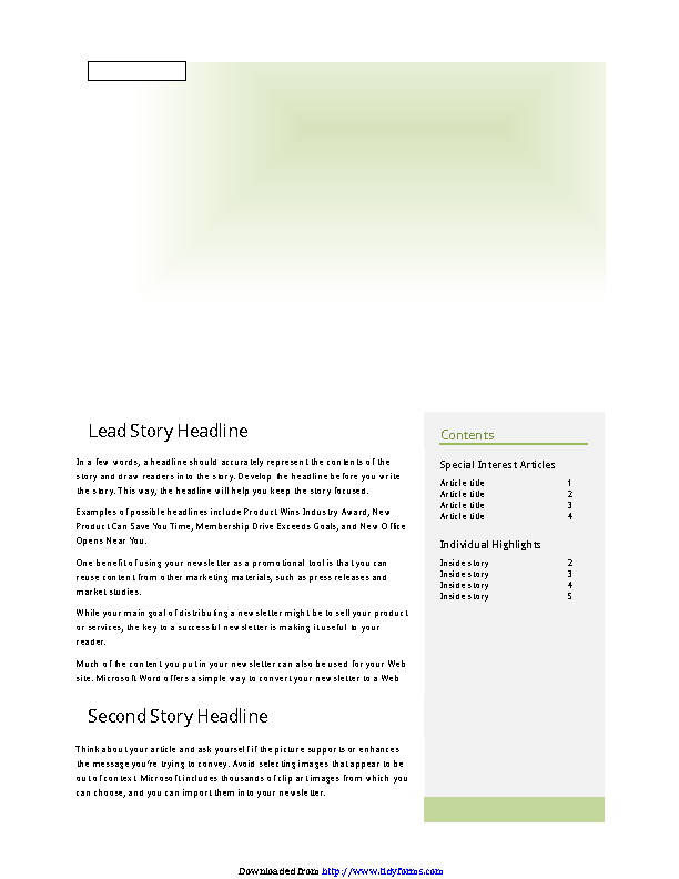 Company Newsletter 2
