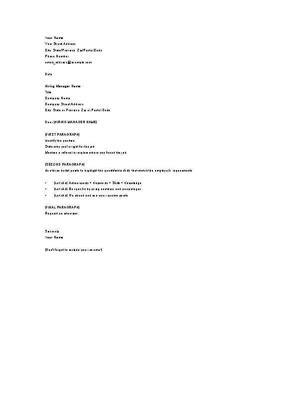 Contemporary Resume In Microsoft Word