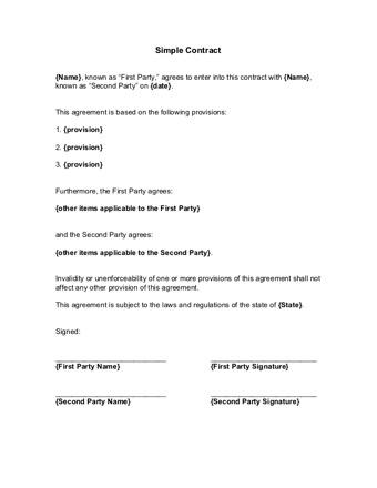 contract maker PDF