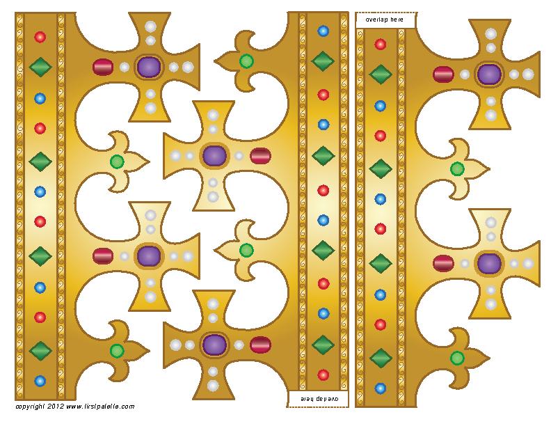 Crown Template | Crown Template 1 Pdfsimpli