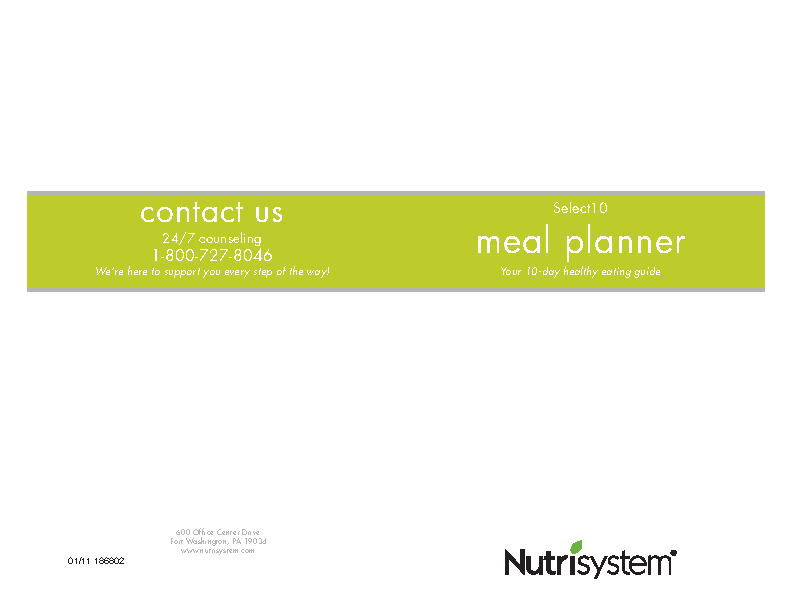 Daily Meal Planner Template 1