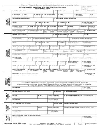 DD1172 PDF