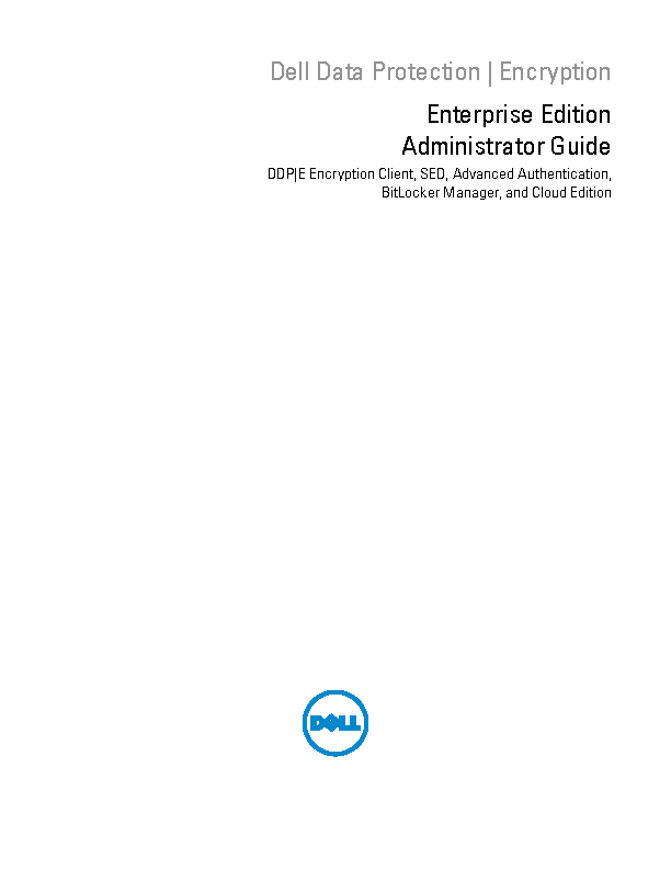 Dell Administrators Guide Sample