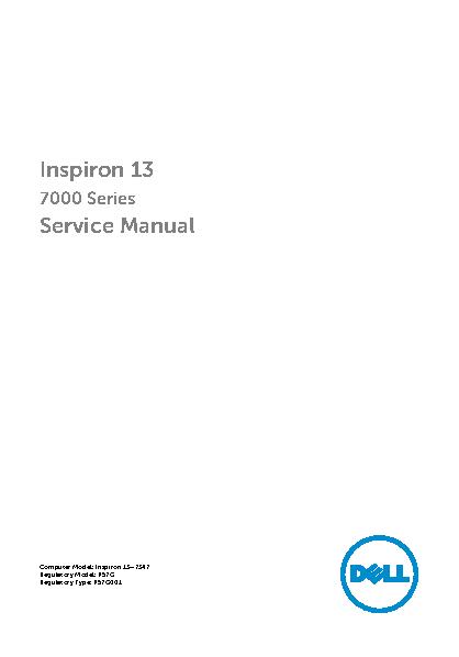 Dell Service Manual Sample