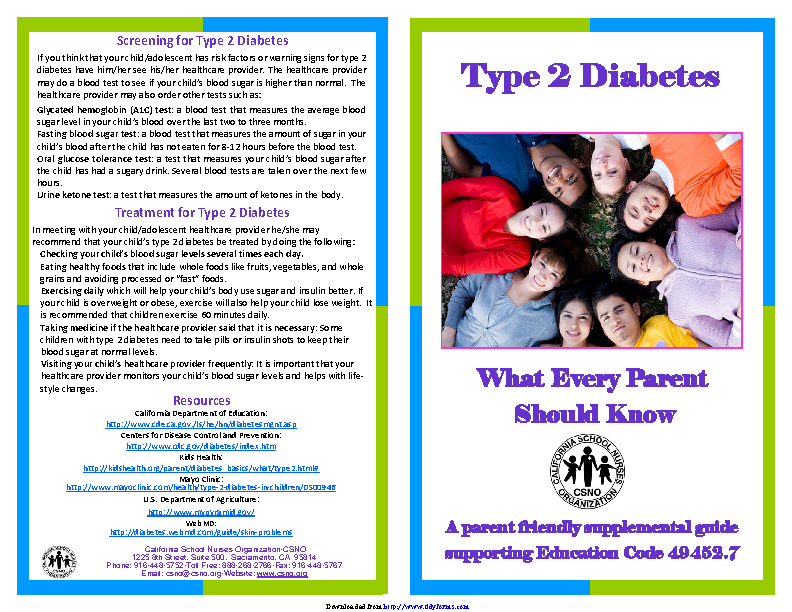 Diabetes Brochure 3