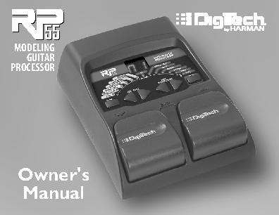 Digi Tech Owners Manual Sample