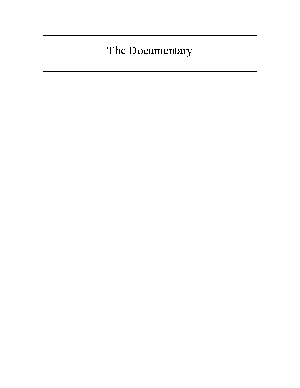 Documentary Script Template For Word Pdfsimpli