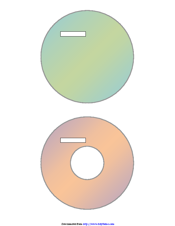 Dvd Label Template 1