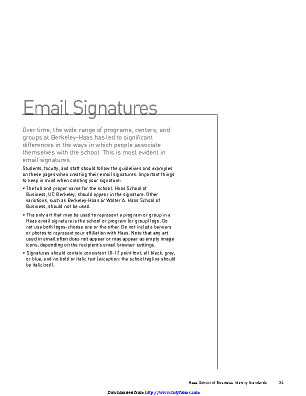 Email Signature Example 1