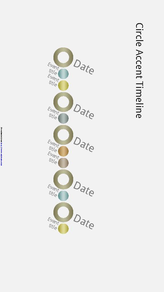 Event Timeline Diagram Slide