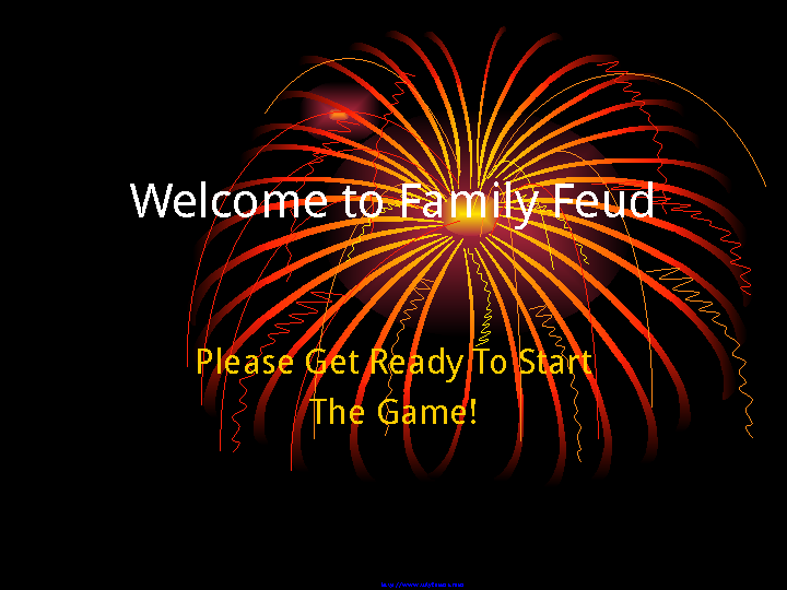Family Feud Powerpoint Template 1