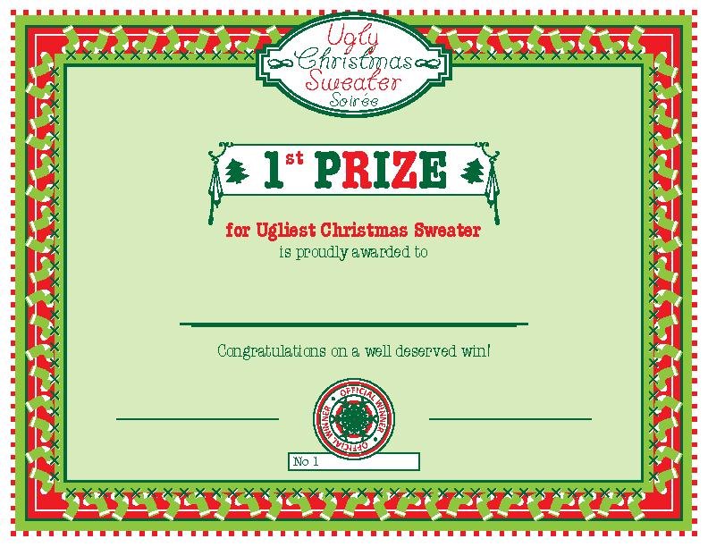 First Prize Winner Certificate Template Pdfsimpli