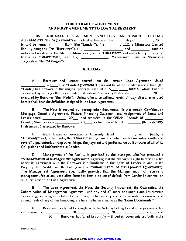Agreement Archives Page 12 Of 15 Pdfsimpli
