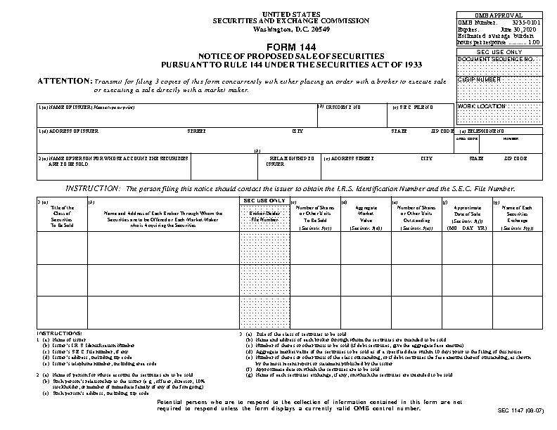 Form144