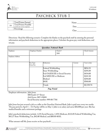 Complete Your Check Stub Template Printables Pdf Forms Online