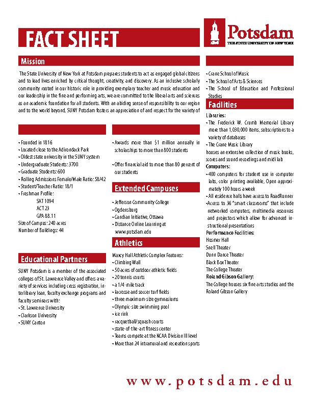 Free Fact Sheet Template Pdf Format Printable