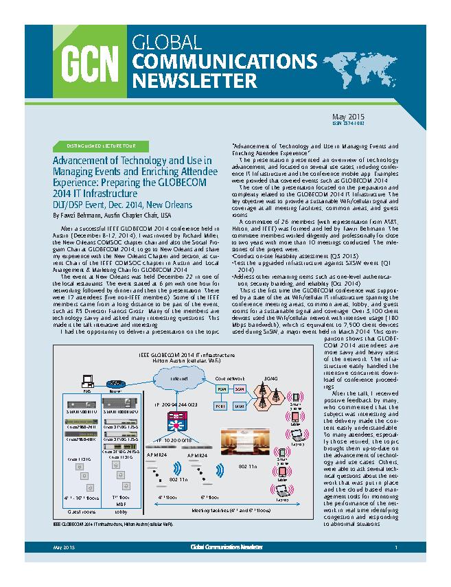 Global Communications Newsletter