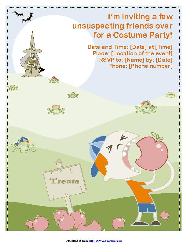 Halloween Party Flyer 2