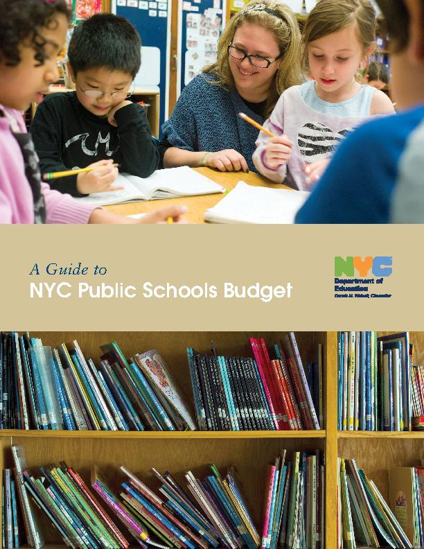 High School Budget Template