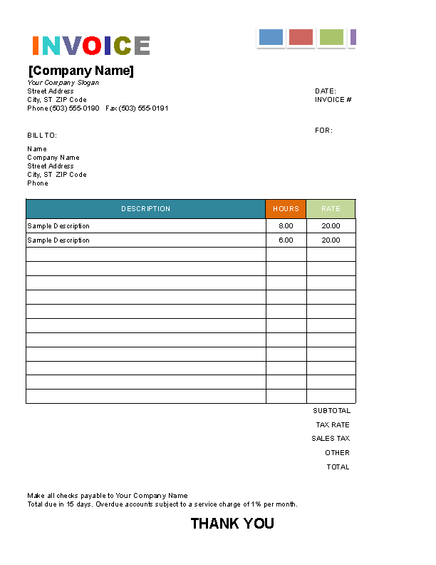 Residential Painting Painting Invoice Pdf Painting Inspired