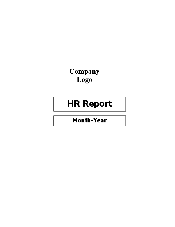 Hr Monthly Report Template