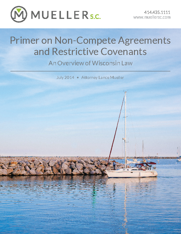 Independent Contractor Non Compete Agreement