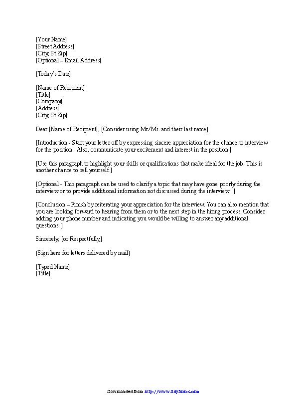 Thank You Letter Format Interview from devlegalsimpli.blob.core.windows.net