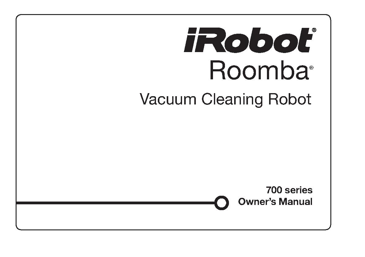 Irobot Users Manual Sample
