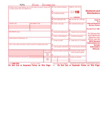 IRS 1099 Dividend PDF