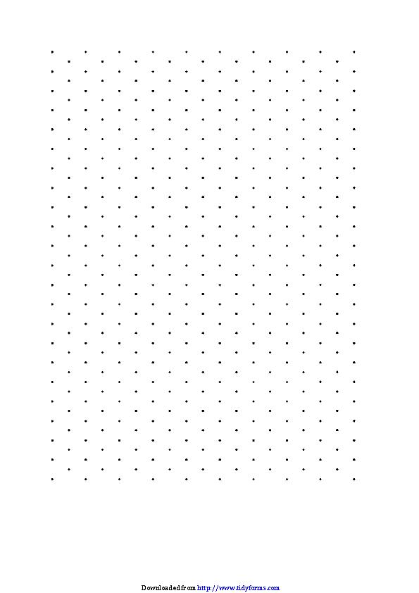 Isometric Paper Dots