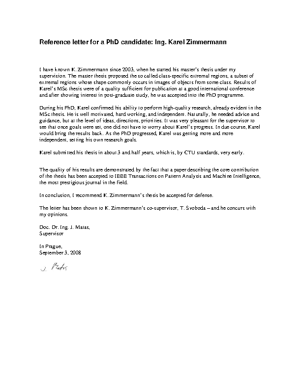 Reference Letter From Supervisor from devlegalsimpli.blob.core.windows.net