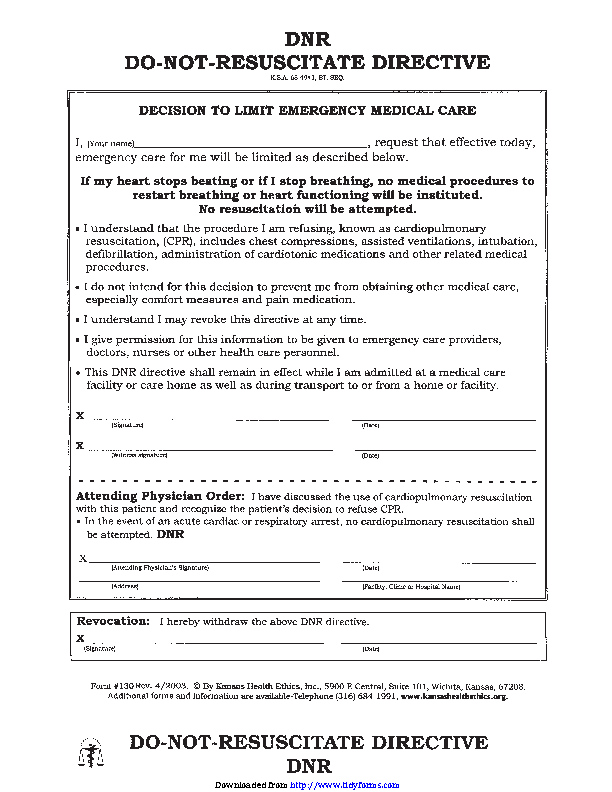graphic regarding Printable Dnr Form known as PDF Kinds Archive - Web site 2019 of 2893 - PDFSimpli