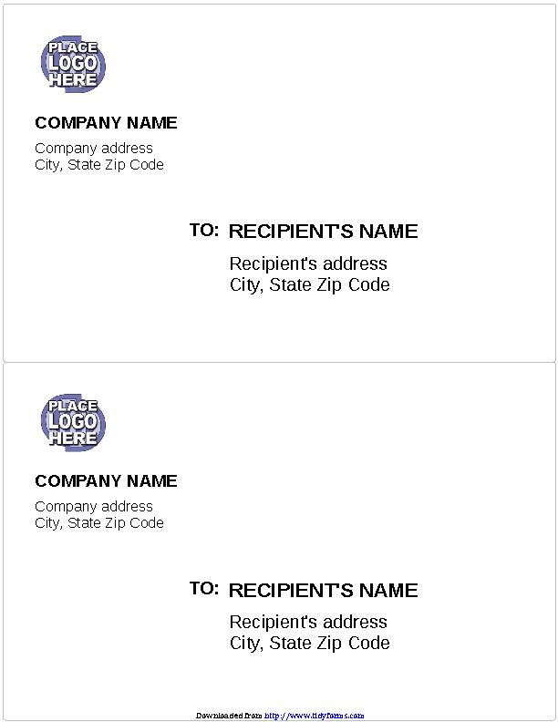 Logo Shipping Labels
